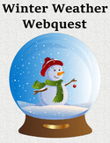 Winter Weather Webquest – Study How Snow, Sleet, Hail, and Blizzards Are Formed