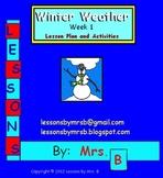 Winter Weather (Week 1)