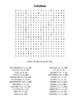 """""""Winter Weather Word Search""""  – Holiday Fun! (Color and Bl"""