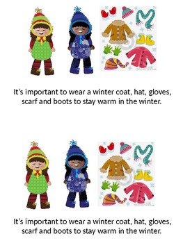 Winter Weather and Clothing Mini Reader