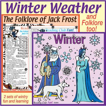 Jack Frost Worksheets Teaching Resources Teachers Pay Teachers