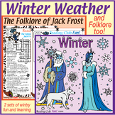 Winter Weather and Folklore Puzzles – Winter Facts and Act