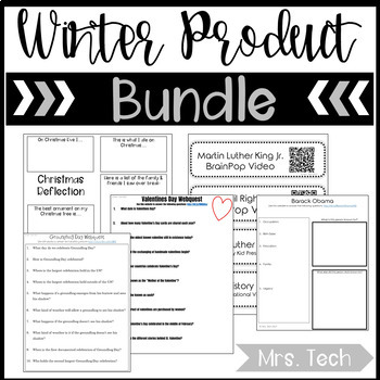 Winter Webquest/Digital Resource Bundle
