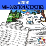 Wh Questions for Speech Therapy, Winter