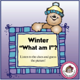Winter What am I? An inference Activity