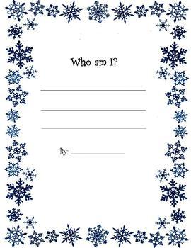 "Winter ""Who Am I?"" Haiku"
