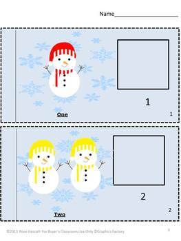 Winter  Bundle Math Literacy Centers Fine Motor Skills Special Education
