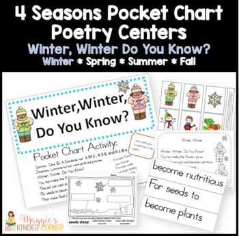 Winter, Winter Poem Pocket Chart Activities