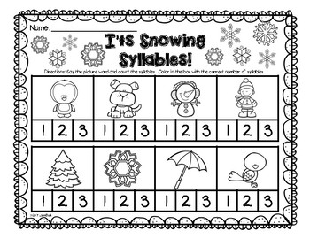 Transitional Kindergarten: Winter Wonderland