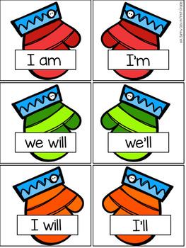 Winter Wonderland {literacy centers!}