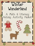 Winter Wonderland! A Holiday Activity Packet