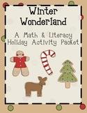 Winter Wonderland! A Holiday Activity Packet