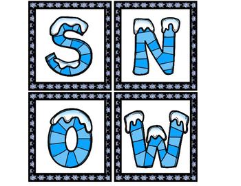 Winter Wonderland- A Literacy and Math Unit