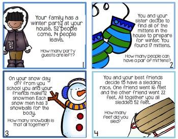 Winter Wonderland! {A Winter Themed Math Hunt}