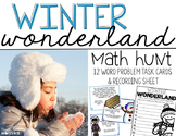 Winter Wonderland! {A Winter Themed Math Hunt}