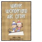 Winter Wonderland ABC Order