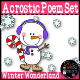 Acrostic Poems Set: Winter Wonderland