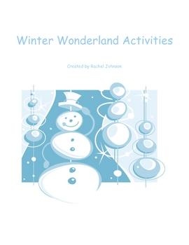 Winter Wonderland Activities
