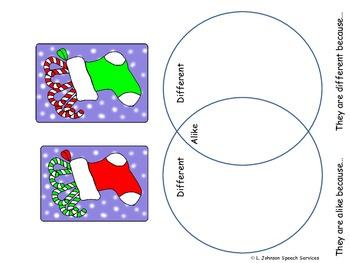 Winter Wonderland Activity Pack for Receptive/Expressive Language Development