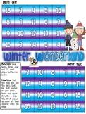 Winter Wonderland Adding Three Numbers