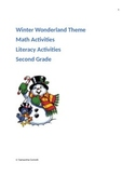 Winter Wonderland Math and Literacy Activities