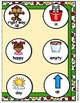 Winter Wonderland Antonyms File Folder Game