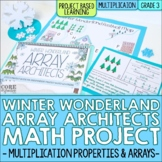 Winter Multiplication Arrays Real World Math Project   Digital & Printable