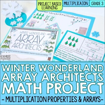 Winter Wonderland Array Architects - Multiplication Project Based Learning (PBL)