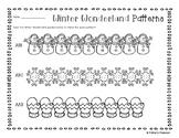 Winter Wonderland Basic Patterns Coloring Practice
