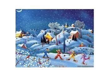 Winter Wonderland Bulletin Board