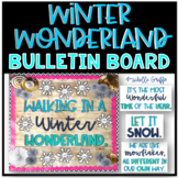 Winter Wonderland Bulletin Board