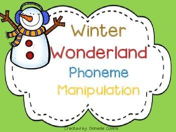 Winter Wonderland CVC Freebie