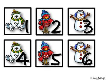 Winter Wonderland Calendar Set