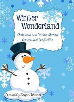 Winter Wonderland Christmas & Winter-Themed Math & Literac