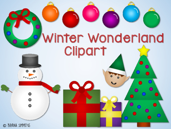 Winter Wonderland Clipart