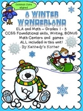 Winter Wonderland ~ Common Core Review ~ ELA and Math