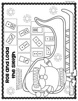 Winter Wonderland {Composing and Decomposing Numbers} Kindergarten Math