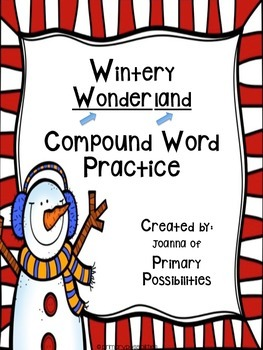 Compound Word Practice (Wintery Wonderland)