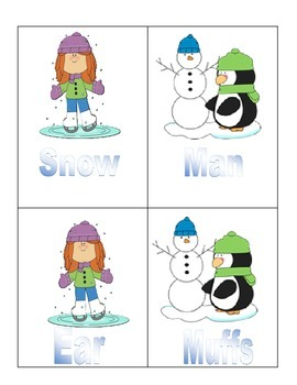 Winter Wonderland Compound Words
