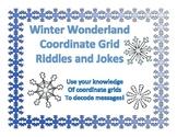 Winter Wonderland Coordinate Grid Decode the Message TEKS 5.8A 5.8B 5.8C