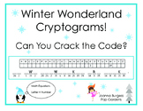 Winter Wonderland Cryptograms! Can You Crack the Code?