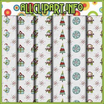 Winter Wonderland Digital Papers