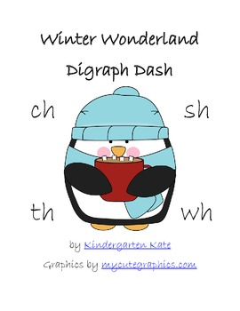 Winter Wonderland Digraph Dash Game - CH, SH, TH, WH
