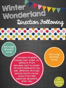 Winter Wonderland Direction Following