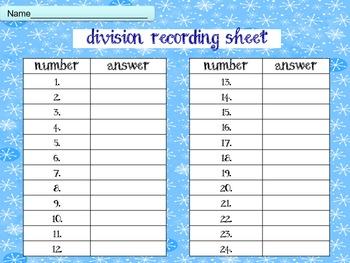 Winter Wonderland Division