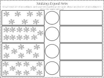Winter Wonderland ELA and Math Common Core Aligned Unit