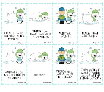 Winter Wonderland Expressive Language Pack