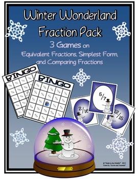 Winter Wonderland Fraction Pack