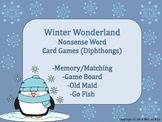 Winter Wonderland Game Pack Diphthongs