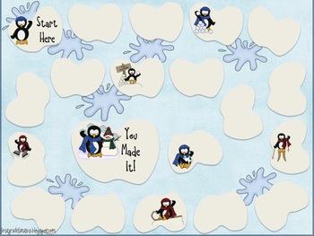 Winter Wonderland Game Pack {Math & Literacy}